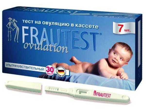 Frautest Ovulation тест-кассеты