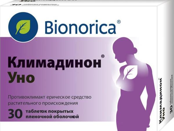 Препарат Климадинон УНО в таблетках