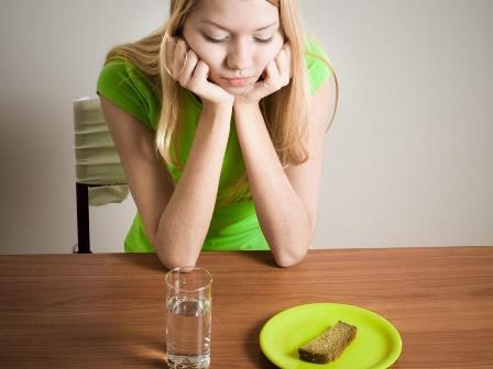Месячные пропали во время диеты