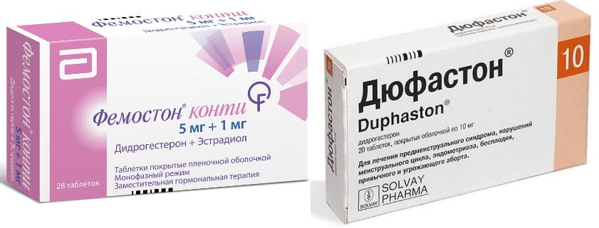 Гормональная терапия при менопаузе