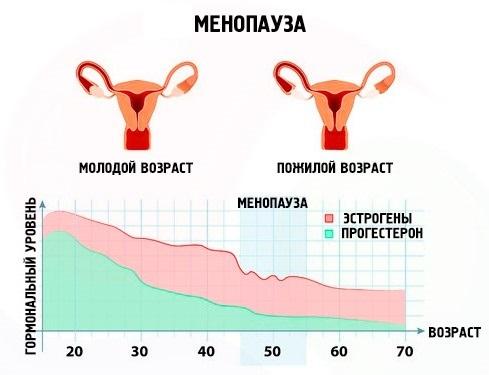Уровень гормонов при климаксе