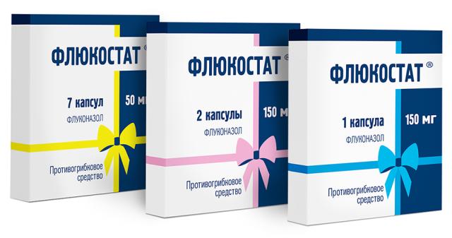 Флюкостат при лечении молочницы у женщин
