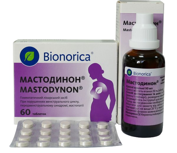 Мастодинон при болях в груди при климаксе