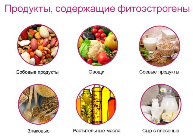 Продукты с фитоэстрогенами при климаксе
