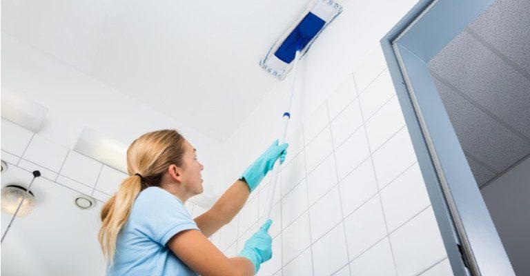 Как и чем мыть матовый натяжной потолок