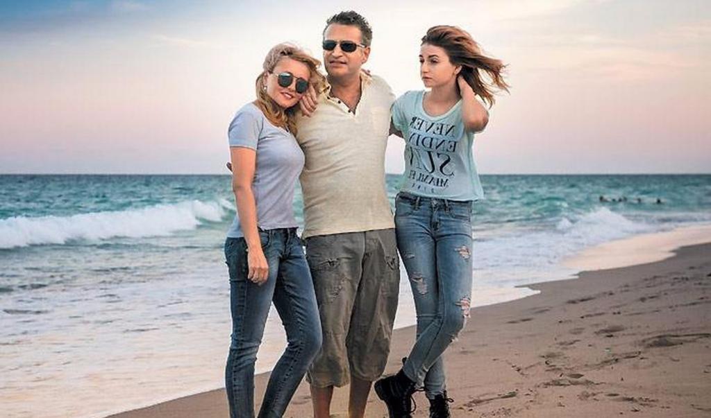 Дочь Агутина и Варум с родителями